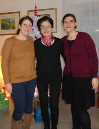 Liliane, Magali and Muriel