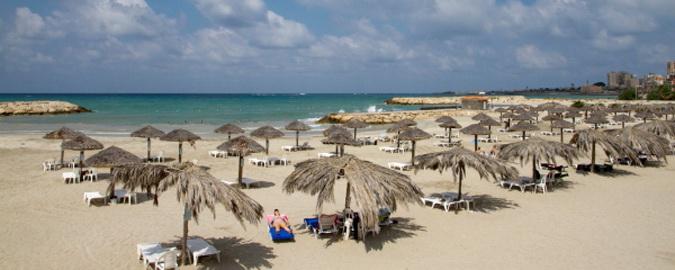 Beach Scene in Lebanon