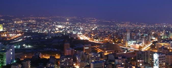 Beirut at Night