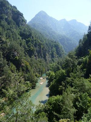 Nahr Ibrahim running through the lush Adonis gorge