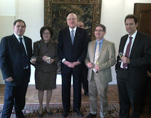 Prime Minister Mikati with Cercle Libanais Members in Brussels