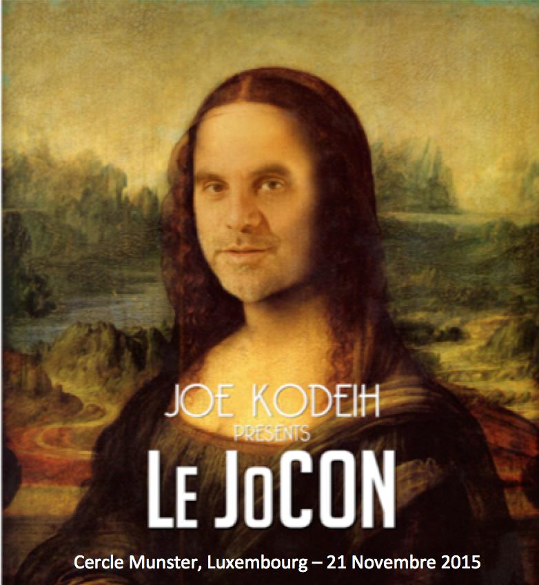 Le JoCon - Cercle Munster 21 Nov 2015